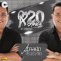 Capa: Amado Basylio - 20 anos de carreira