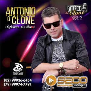 Capa: Antonio o Clone - Boteco do Clone Vol.2