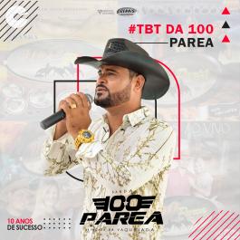 Capa: Banda 100 Parea - #Tbt da 100 Parea (10 Anos de Sucesso)