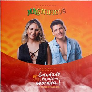 Banda Magnificos - Saudade Também Chorava (CD Promocional)
