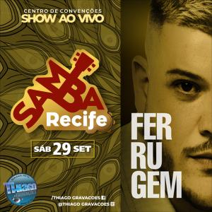 Capa: Ferrugem - Samba Recife