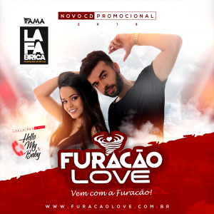 Capa: Furacão Love - Promocional Ao vivo Agosto 2018