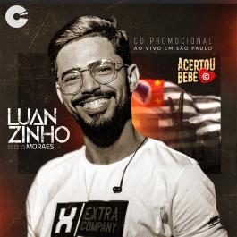 Capa: Luanzinho Moraes - Promocional Ao Vivo em São Paulo