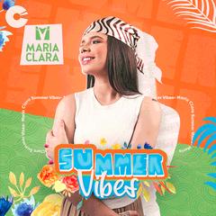 Capa: Maria Clara - Summer Vibes (Promocional Verão 2021)