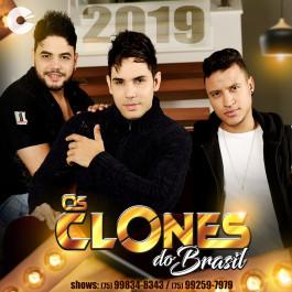 Capa: Os Clones do Brasil - Pra Tocar no Paredão 2019