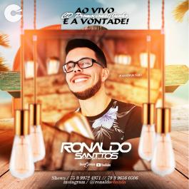 Ronaldo Santos - Ao Vivo e a Vontade